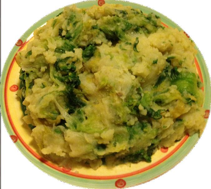 scarola con patate