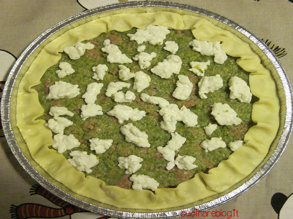 Torta Zucchine Salsiccia Stracchino