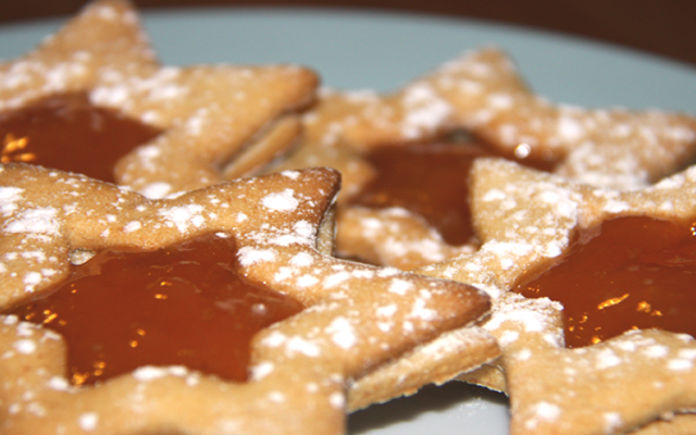 Stelle di biscotto