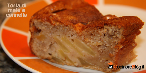 Torta di mele e cannella(torta di Nonna Papera)